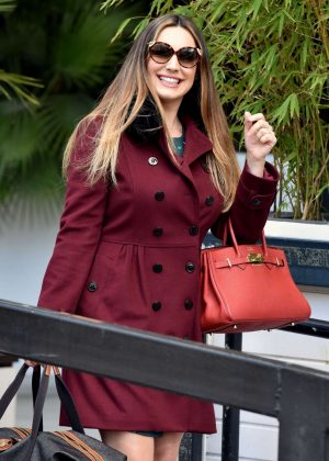 Kelly Brook at the ITV Studios in London