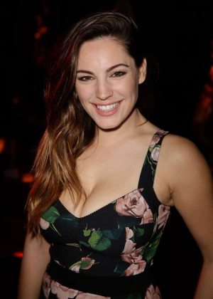 Kelly Brook - Attending Show at the Crazy Horse in Paris