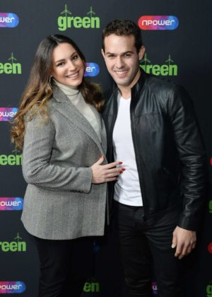 Kelly Brook - Blue-Green Secret Gig in London