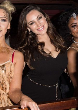 Kelly Brook - Celebrates Steam & Rye's 3rd Birthday Party in London