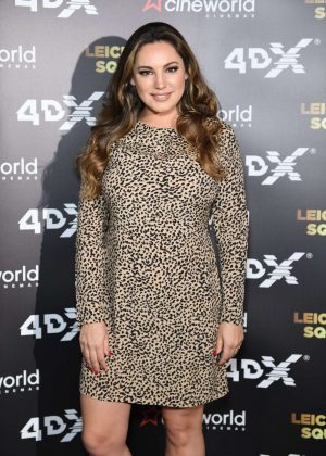 Kelly Brook - Cineworld Leicester Square Relaunch Party in London