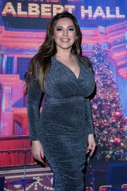 Kelly Brook - Emma Bunton's Christmas Party in London