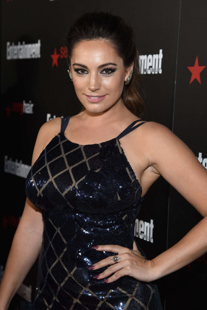 Kelly Brook - Entertainment Weekly's 2015 SAG Awards Nominees in LA