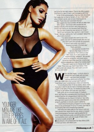 Kelly Brook - Fabulous Magazine (April 2015) adds