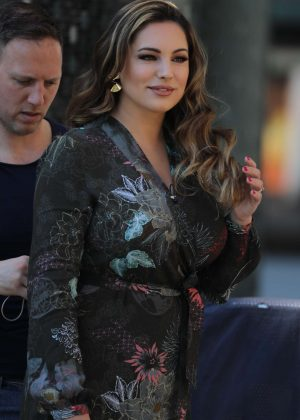 Kelly Brook - Filming This Morning in London