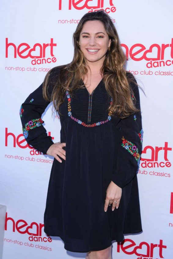 Kelly Brook - Heart Dance Media Launch Event in London