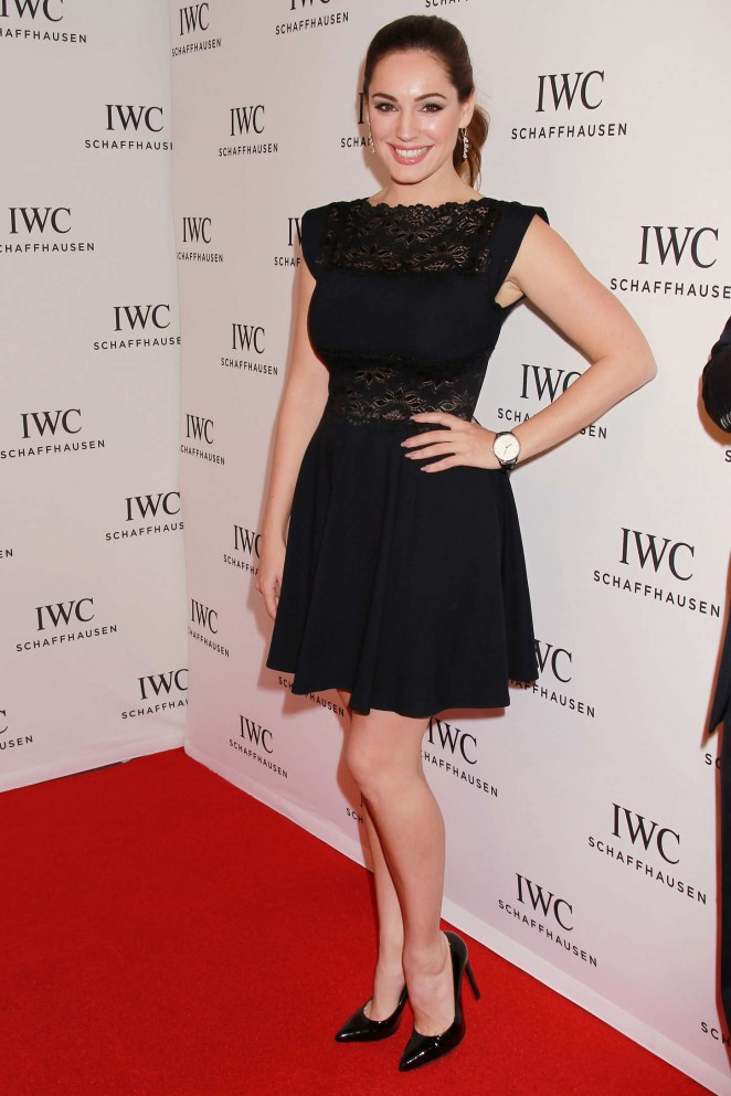 Kelly Brook - IWC Schaffhausen 2015 Annual 'For the Love of Cinema' Gala in NYC