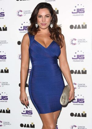 Kelly Brook - JLS Foundation Fundraiser in London