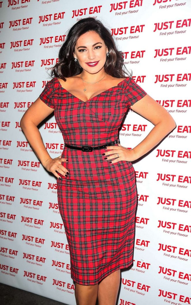 Kelly Brook - Just Eat Bash in London