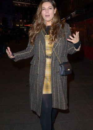 Kelly Brook - Leaves Global Radio in London