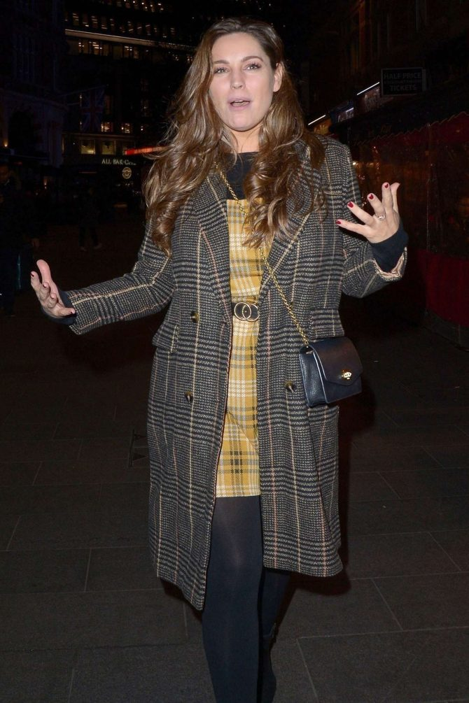 Kelly Brook – Leaves Global Radio in London