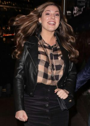 Kelly Brook – Leaving Global Radio in London