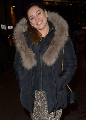 Kelly Brook - Leaving Global Radio in London