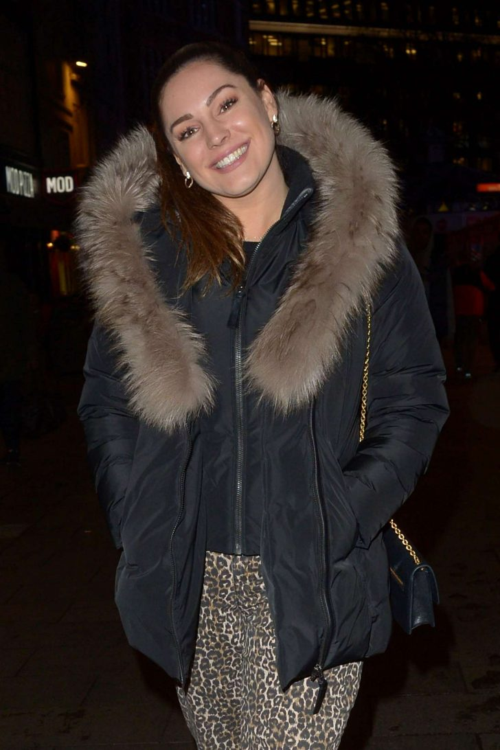 Kelly Brook - Leaving Global Radio in London