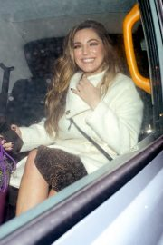 Kelly Brook - Leaving Global Radio studios in London