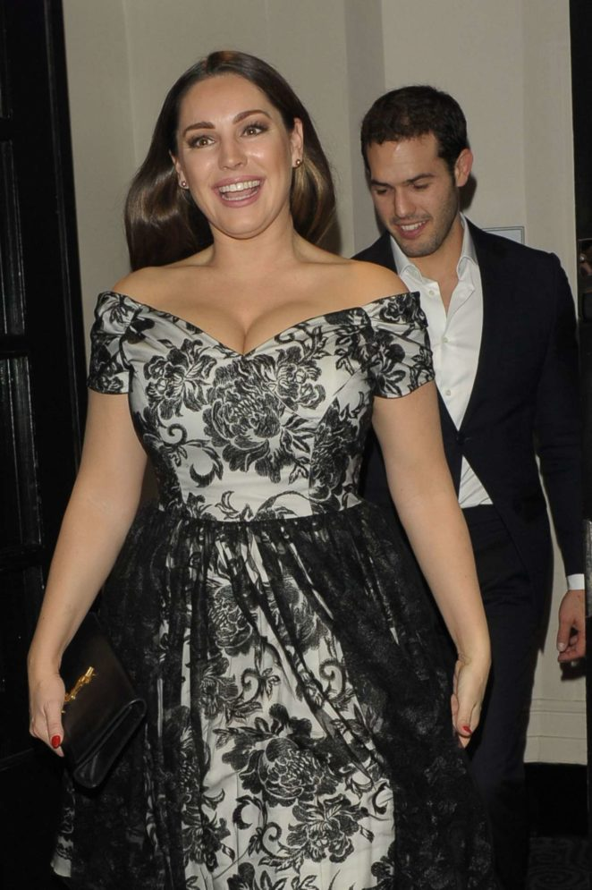 Kelly Brook - Leaving The British Takeaway Awards in London