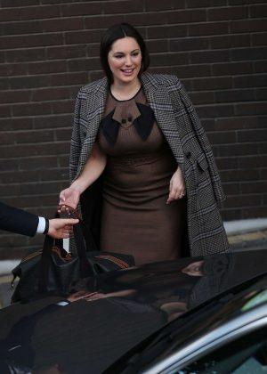 Kelly Brook - Leaving the ITV Studios in London