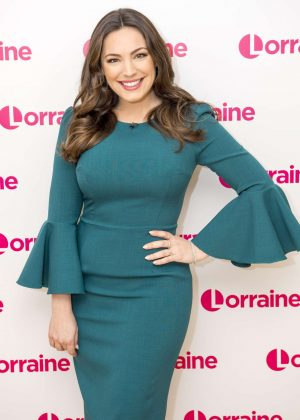 Kelly Brook - Lorraine TV Show in London