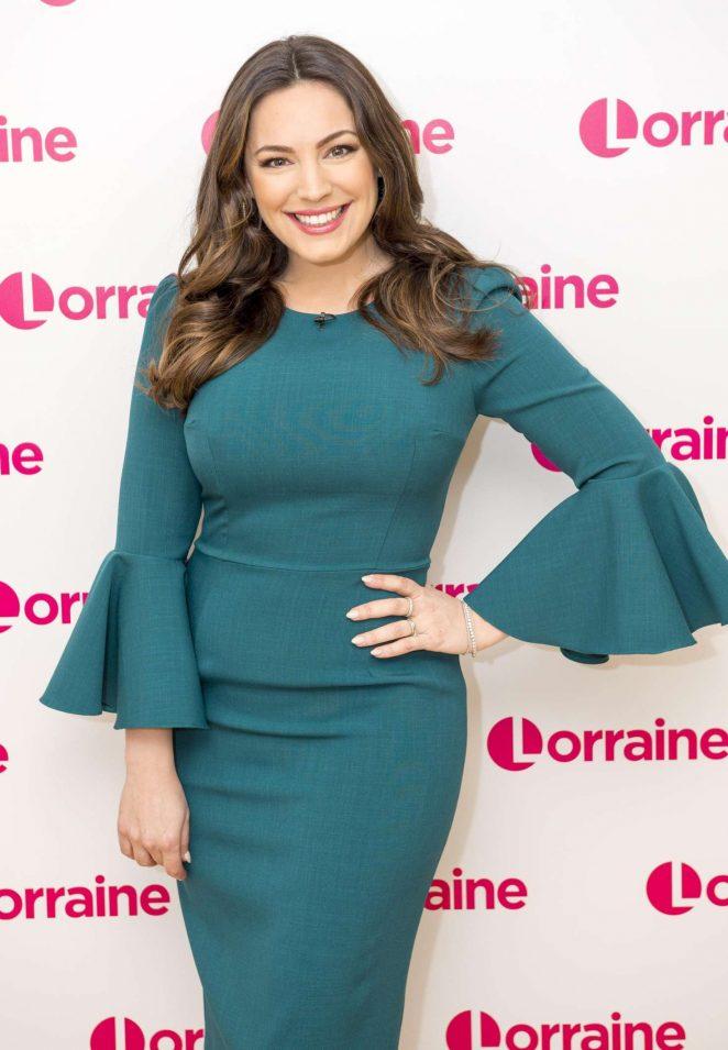 Kelly Brook - Lorraine TV Show in London
