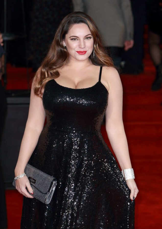 Kelly Brook - 'Murder on the Orient Express' Premiere in London