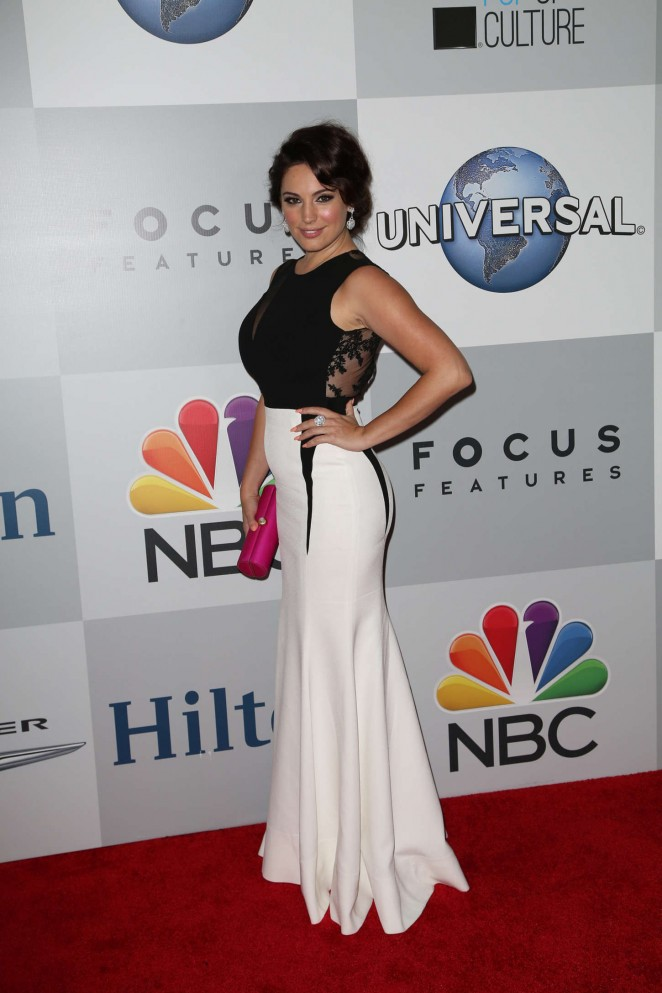 Kelly Brook - NBCUniversal Golden Globes Party 2015 in Beverly Hills