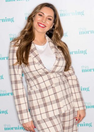 Kelly Brook - On This Morning TV Show in London