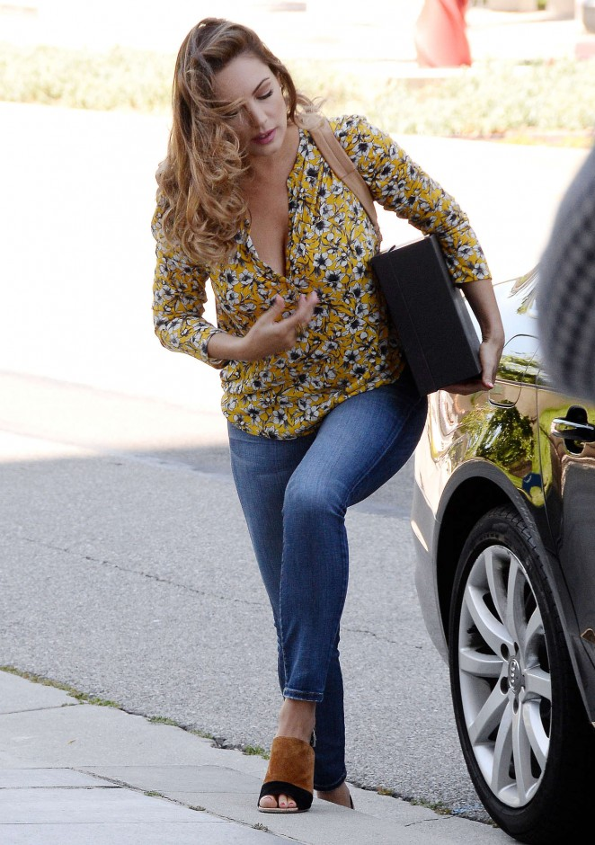 Kelly Brook in Tight Jeans out in LA