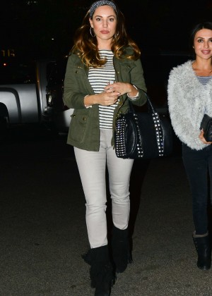 Kelly Brook in Tight Jeans Out for dinner in LA