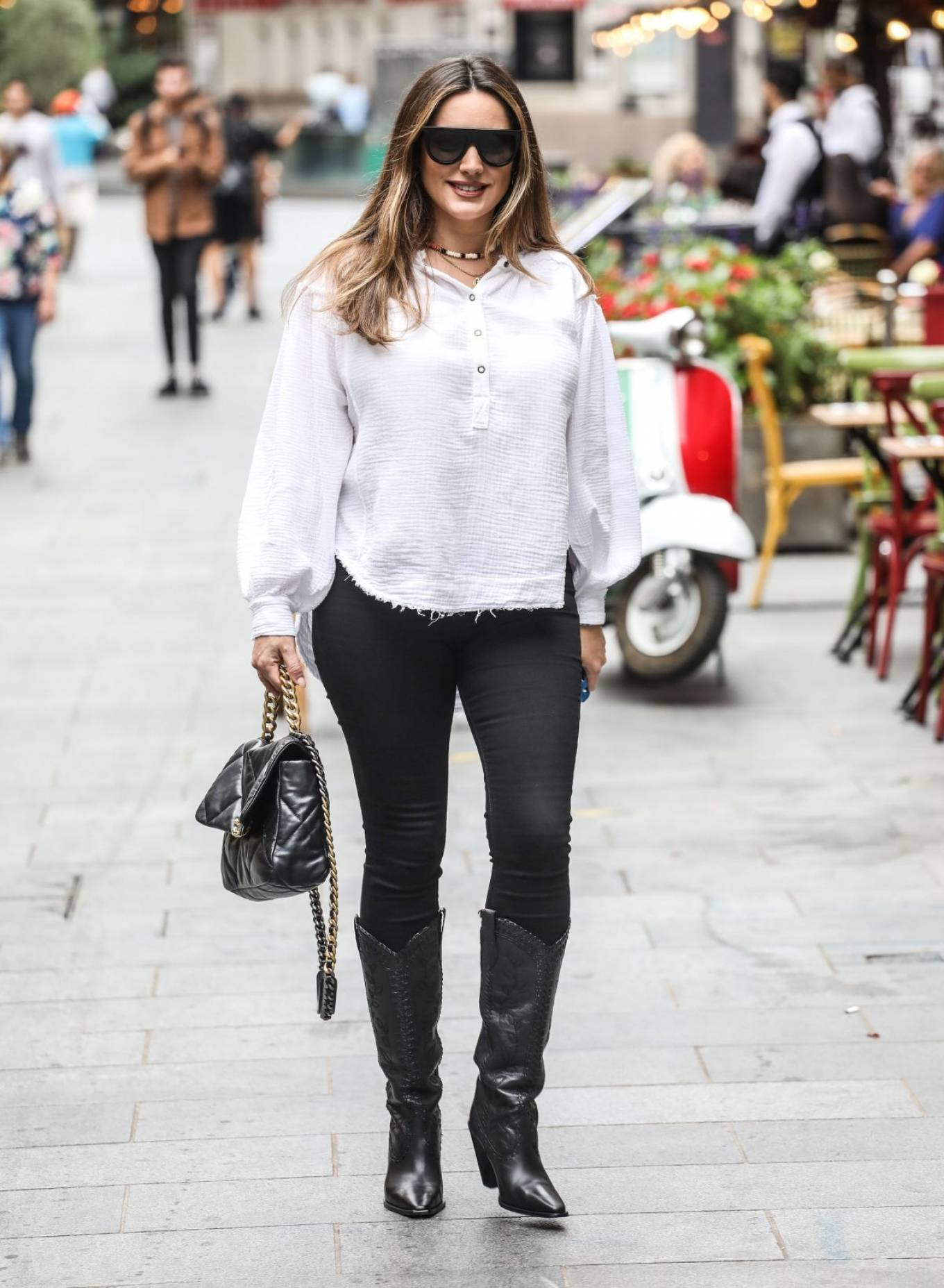 Kelly Brook - out in London
