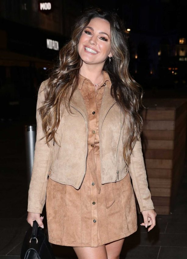 Kelly Brook - Outside Heart Radio in London