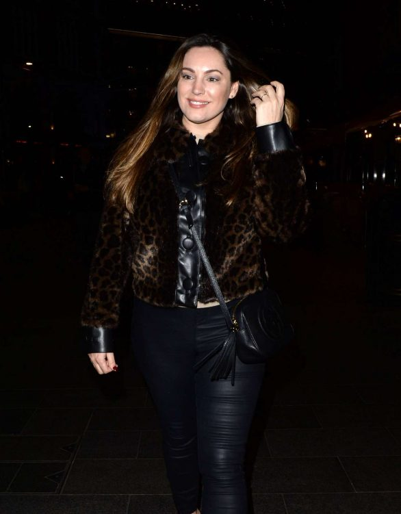 Kelly Brook - Seen Leaving Global Radio