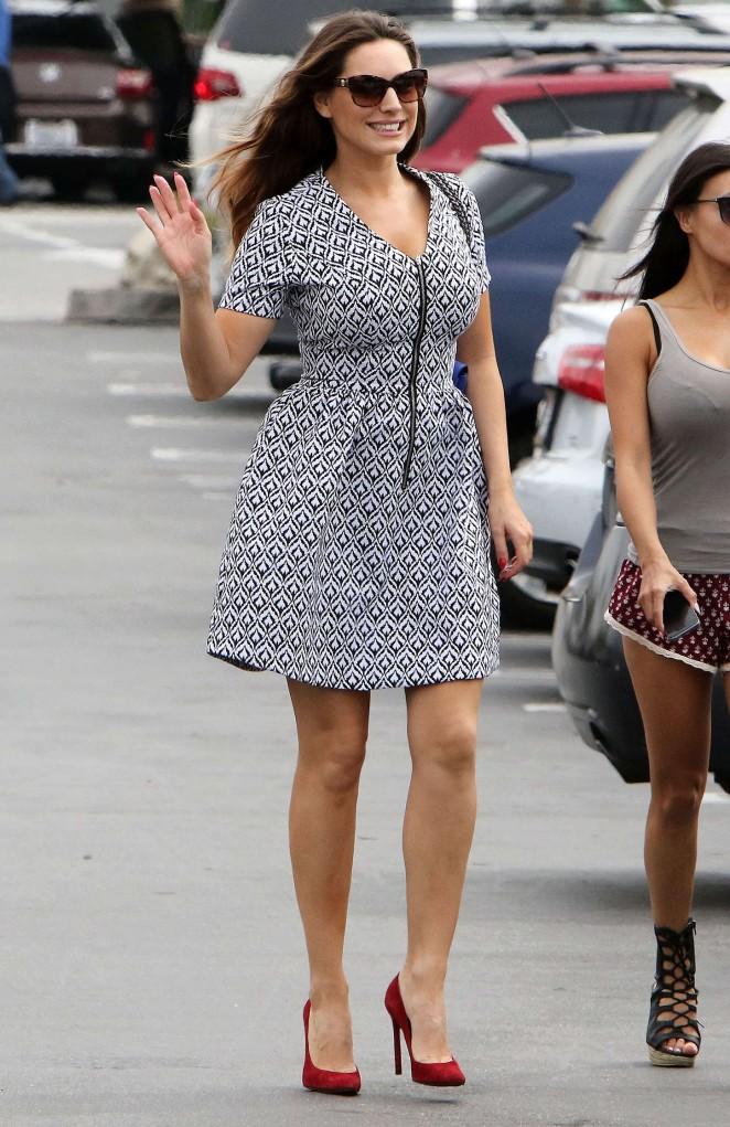 Kelly Brook in Mini Dress -06
