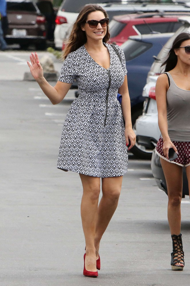 Kelly Brook in Mini Dress -21