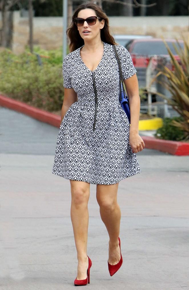 Kelly Brook in Mini Dress -22