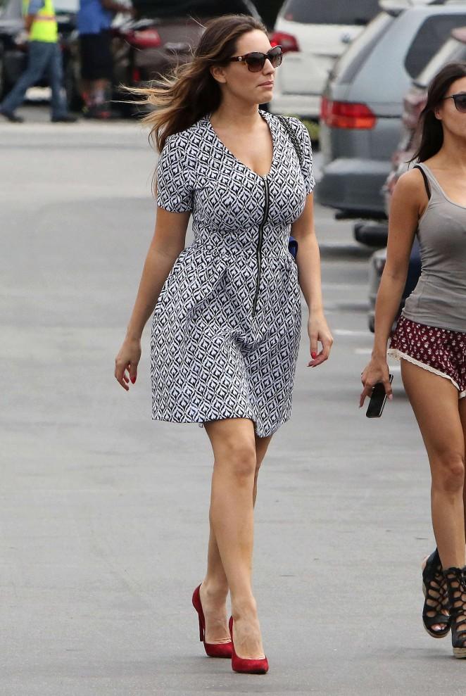 Kelly Brook in Mini Dress -25
