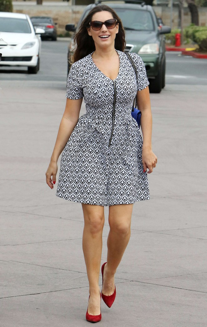 Kelly Brook in Mini Dress -28