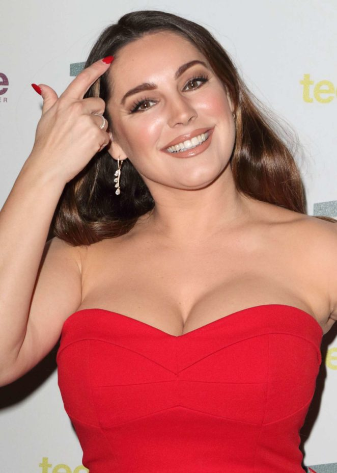 Kelly Brook - Tens Unite: Ten Year Tale Fundraising Gala in London