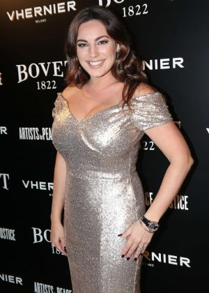 Kelly Brook - The Brilliant Is Beautiful Gala in London