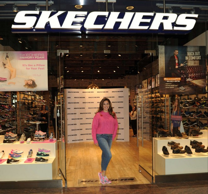 Kelly Brook: The Skechers Store Launch