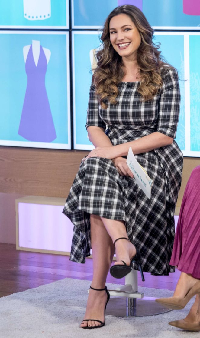 Kelly Brook: This Morning TV Show -01