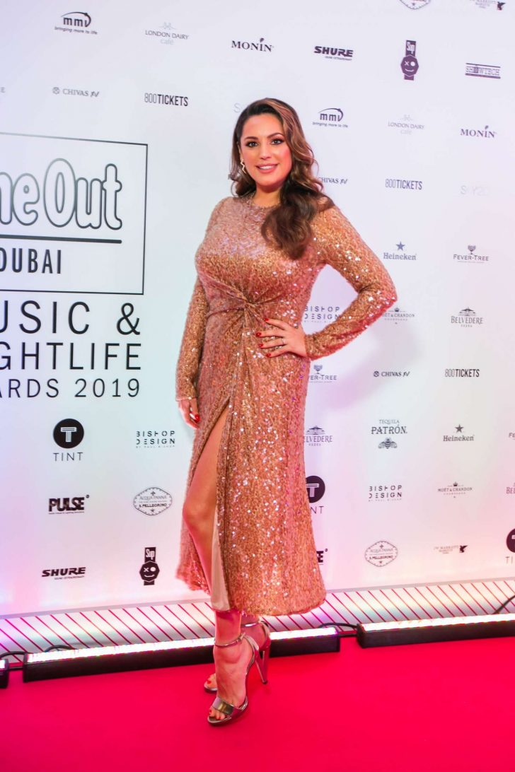 Kelly Brook - Time Out Dubai Music and Nightlife Awards in Dubai