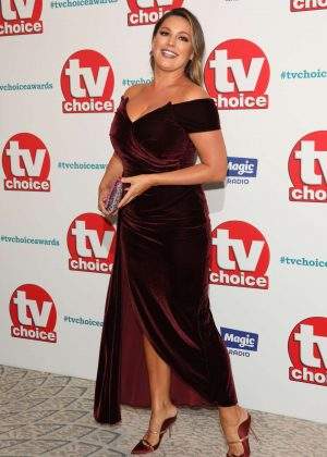 Kelly Brook - TV Choice Awards 2018 in London