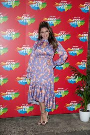 Kelly Brook - VIP launch of Just Eat Food Fest Taste Adventure in London