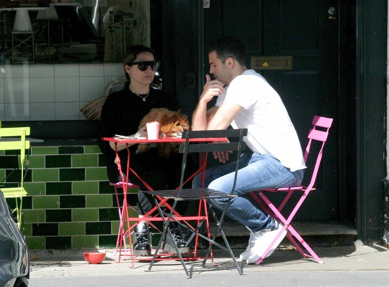 Kelly Brook 2020 : Kelly Brook with boyfriend Jeremy Parisi – Out in Hampstead-07