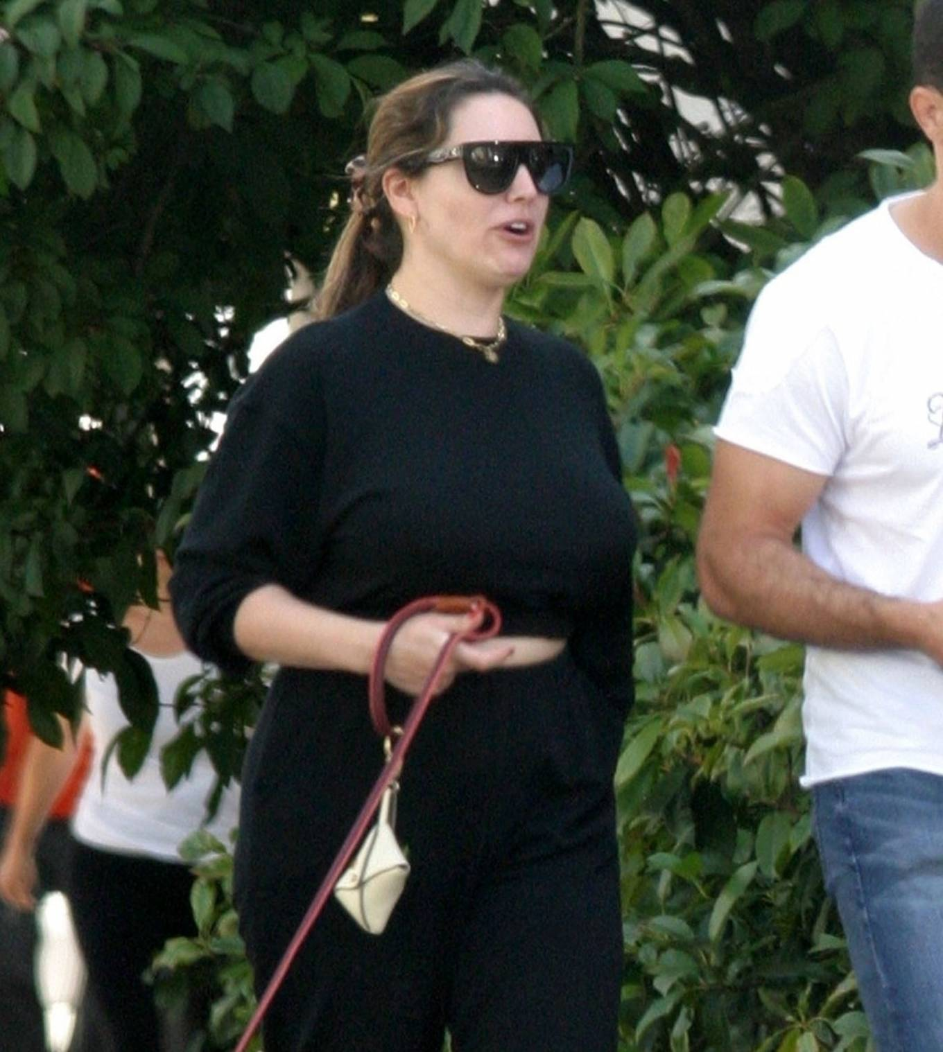 Kelly Brook 2020 : Kelly Brook with boyfriend Jeremy Parisi – Out in Hampstead-16