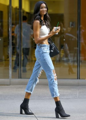 Kelly Gale - Callbacks for the Victoria's Secret Fashion Show 2018 in NYC