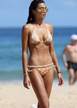 Kelly Gale in Bikini on Bondi Beach in Sydney