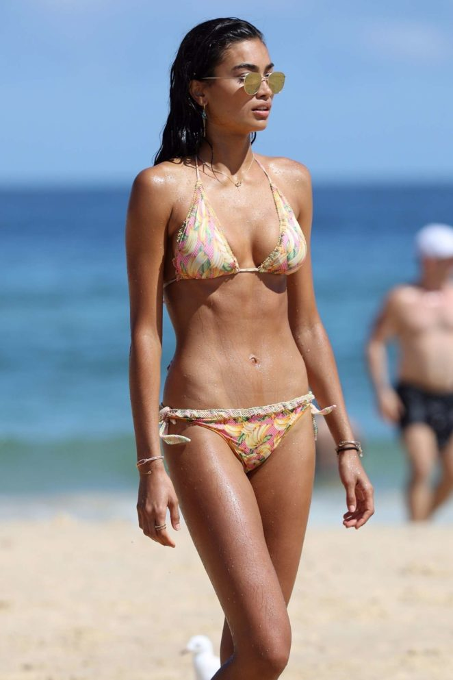 Kelly Gale in Bikini on Bondi Beach in Sydney