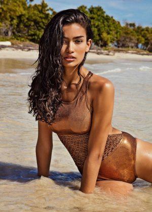 Kelly Gale in Bikini - Yamamay Photoshoot