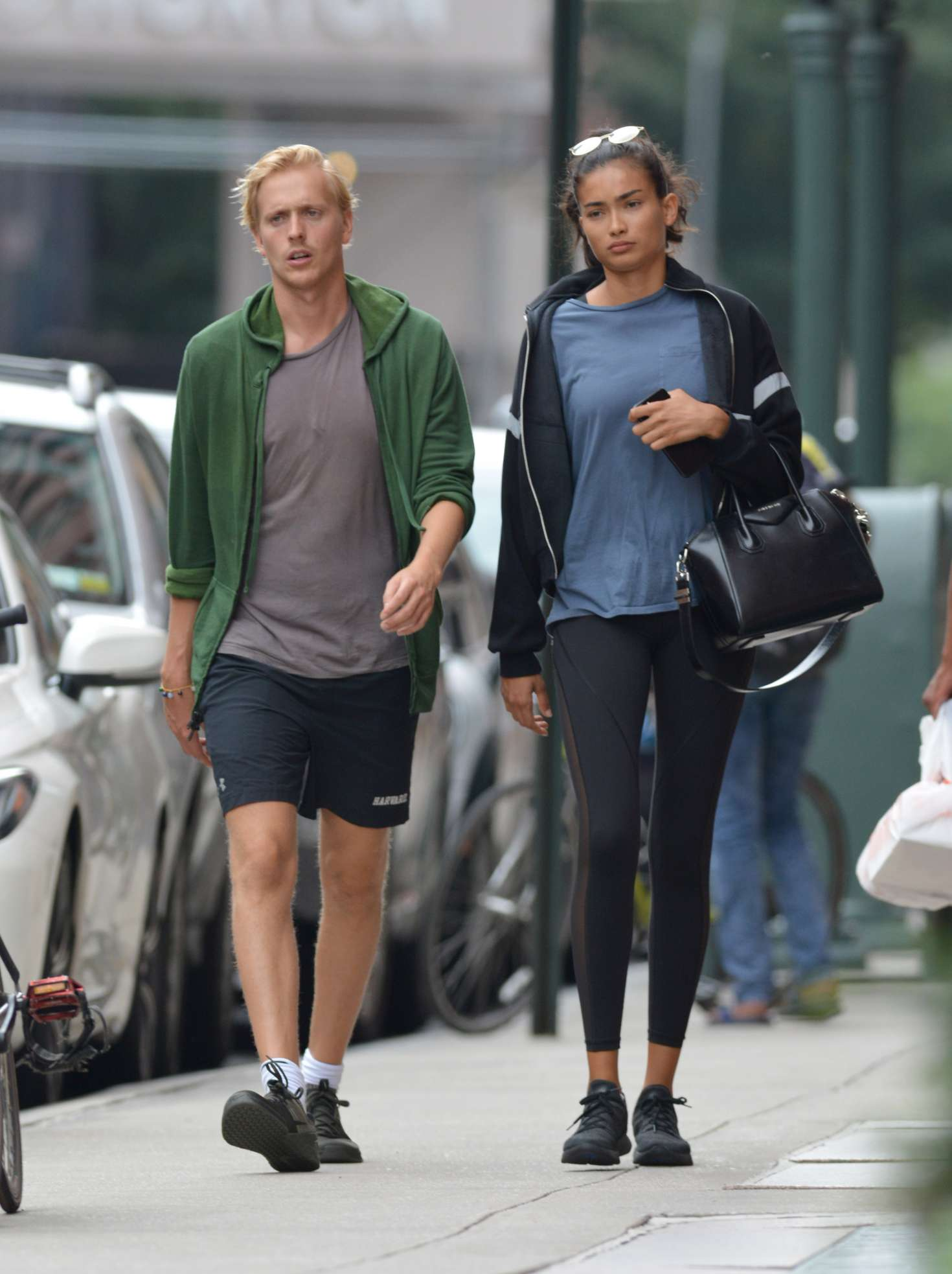 Kelly Gale 2018 : Kelly Gale: Leaving a gym in New York -03
